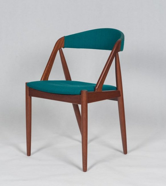 Kai Kristiansen dining chair Model 31  Kai dining chair Danish Vintage furniture  Bo butik - Dining Room Chairs Fabric