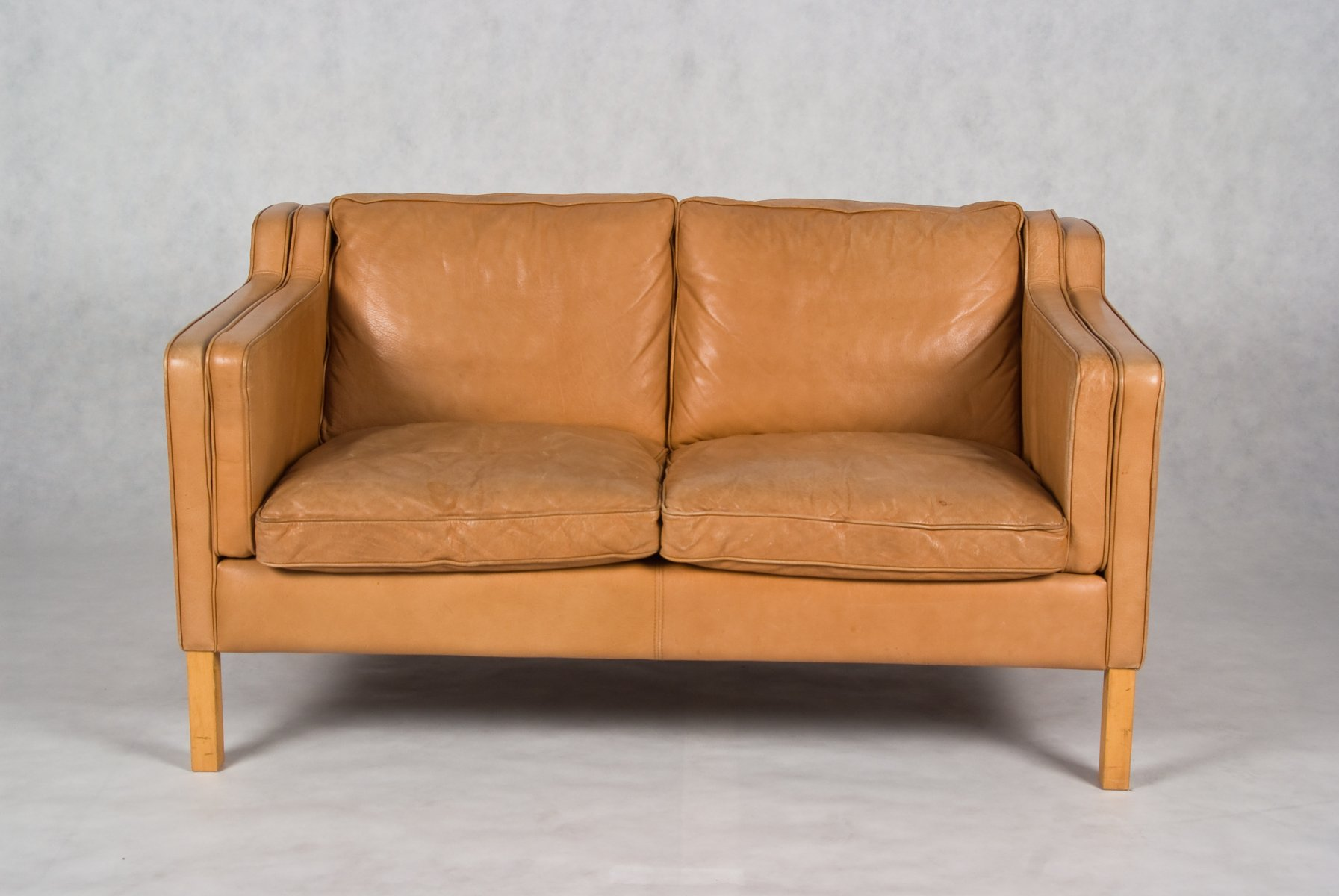 Stouby 2 seater leather sofa for 2 seater leather sofa
